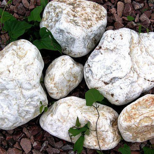 Камень для бани - Белый кварц