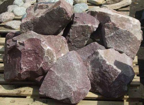 Камень для бани - Малиновый кварцит