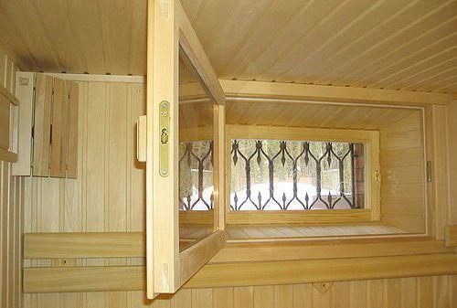 Современные окна для бани не только удобны, но и очень красивы