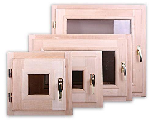 Окна для бани в их лишь небольшом многообразии