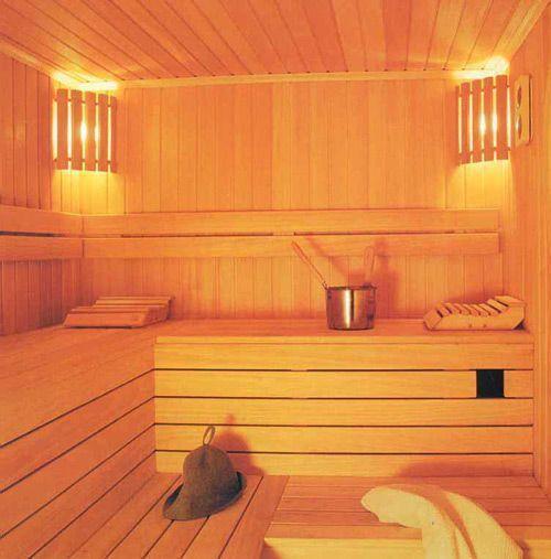 В сауне или бане не только красиво, но и душевно